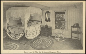 Guest-room in the Old Ordinary, Hingham, Mass.