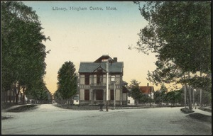 Library, Hingham Centre, Mass.
