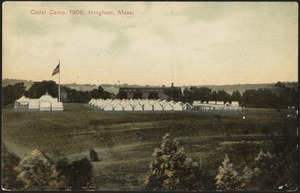 Cadet camp, 1906, Hingham, Mass.
