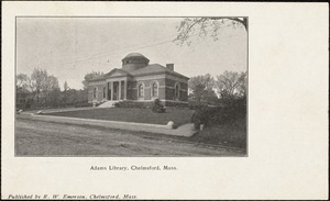 Adams Library, Chelmsford, Mass.