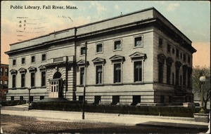 Public library, Fall River, Mass.