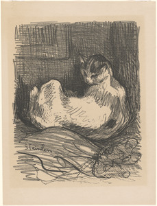 Théophile Alexandre Steinlen (1859-1923). Lithographs, Etchings, and Other Works