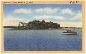 Wickets Island, Onset Bay, Mass.