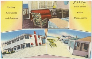 Surfside apartments and cottages, Plum Island Beach, Massachusetts