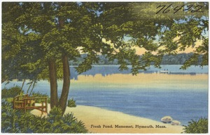 Fresh Pond, Manomet, Plymouth, Mass.