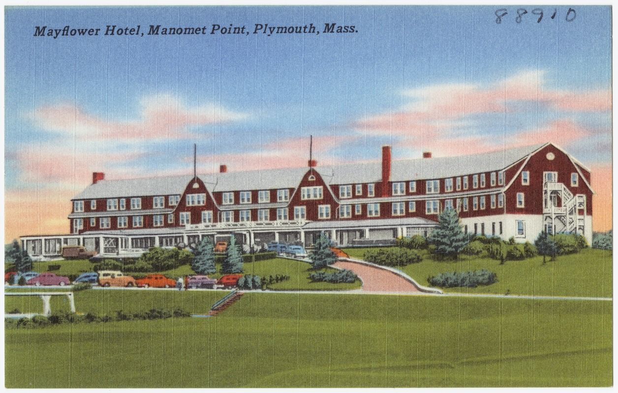 Mayflower Hotel Manomet Point Plymouth M Digital Commonwealth