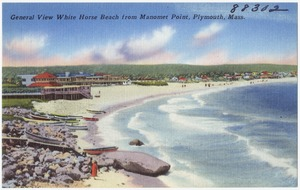 General view, White Horse Beach from Manomet Point, Plymouth, Mass.