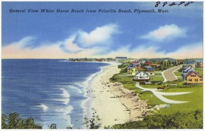General view White Horse Beach from Priscilla Beach, Plymouth, Mass.