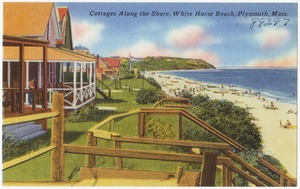 Cottages along the shore, White Horse Beach, Plymouth, Mass.