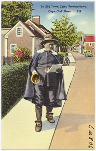 Ye Old Town Crier, Provincetown, Cape Cod, Mass.