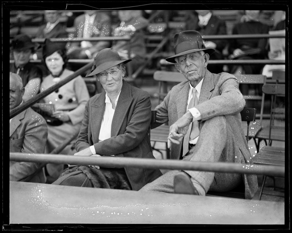 Old couple in Braves Field