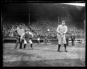 Babe Ruth surely delivered with a home run