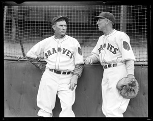 Tom Zachary and Hank Gowdy, Boston Braves