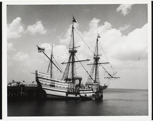 Plymouth, Mass re-production of Mayflower