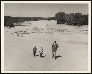 Desert of Maine - Freeport, Me 1950s