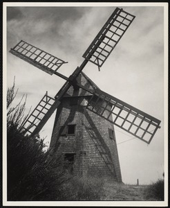 Old grist mill, Nantucket, Mass