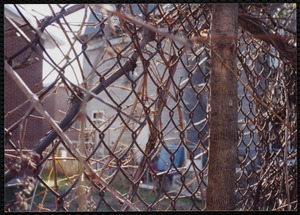 9 Winter Street - through the back fence