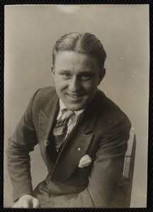 Portrait of young man, unidentified