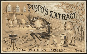 Pond's Extract, the people's remedy