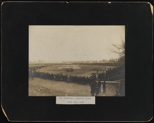 Old Broadway athletic field football game