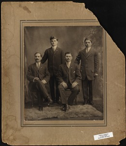 Portrait of four men