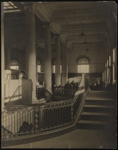 Somerville library interior