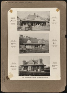 Somerville, Massachusetts - historic buildings: railroad stations