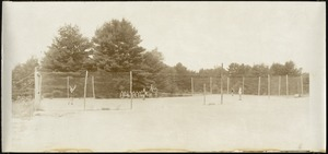Boys Camp, Tennis Court (unidentified)