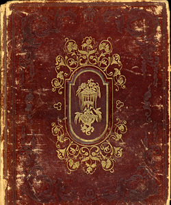 Amanda M. Beaman friendship book, Abbot Academy, class of 1857