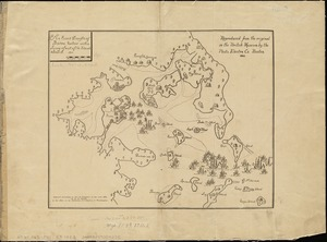 An exact draught of Bostone harbour with a survey of most of the islands about it