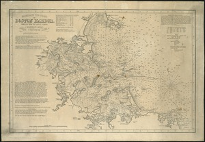 Eldridge's new chart of Boston Harbor