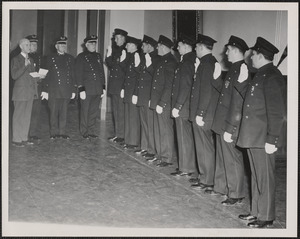 Swearing in of officers