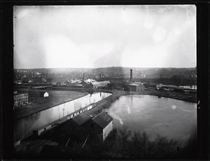 Chemical Paper Company, Newton Pond, Third level canal