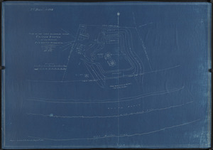 Plan of the land belonging to the United States at the Gurnet, Plymouth Harbour
