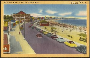Birdseye view of Revere Beach, Mass.