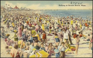 Bathing at Revere Beach, Mass.