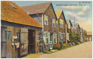 Bearskin Neck, Rockport, Mass.