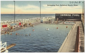 Swimming pool, Salisbury Beach, Mass.