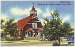 Star of the Sea Church, Salisbury Beach, Mass.