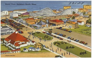 Aerial view, Salisbury Beach, Mass.