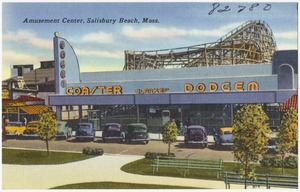 Amusement Center, Salisbury Beach, Mass.