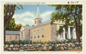Church of St. Mary of the Nativity Scituate, Mass.