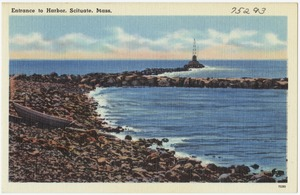 Entrance to harbor, Scituate, Mass.