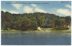 Camp Cottaquilla, Girl Scout Camp, Choccolocco, Alabama