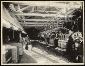 W. 7 dyehouse - kettle room. Looking north from south-west end