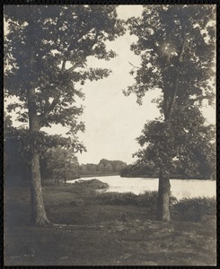 Charles River. Newton, MA. Charles River, from Cold Spring Grove