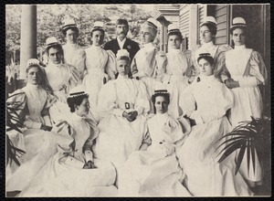 Hospitals. Newton, MA. Copy of class of 1896, NWH