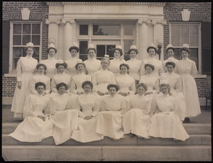 Hospitals. Newton, MA. Class of 1911, NWH