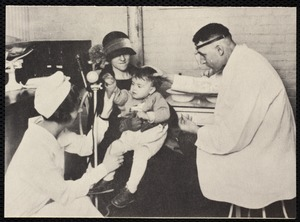 Hospitals. Newton, MA. Copy of well-baby clinic