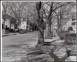 Villages of Newton, MA. Nonantum. Churchill St